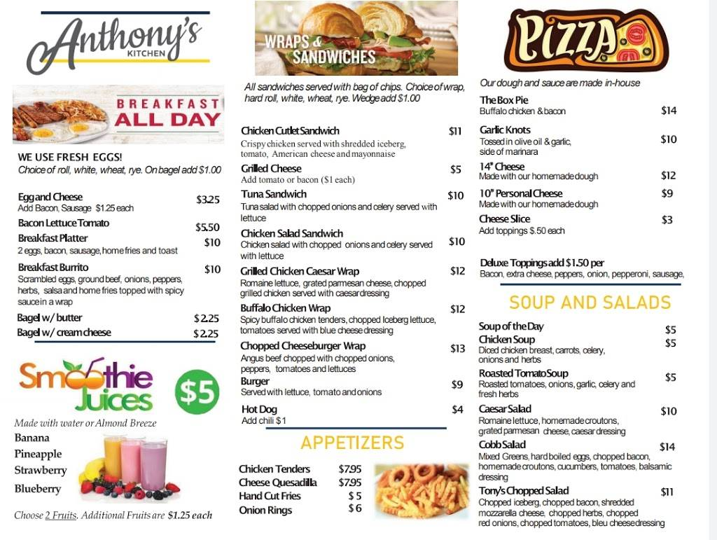 Anthonys Kitchen   meal takeaway   1063 Hope St unit 1, Stamford, CT 06907, USA   9148300760 OR +1 914-830-0760