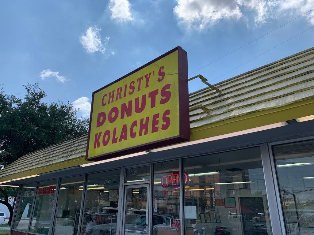 Christys Donuts Kolaches | bakery | 1103 W Gray St, Houston, TX 77019, USA | 7135244005 OR +1 713-524-4005