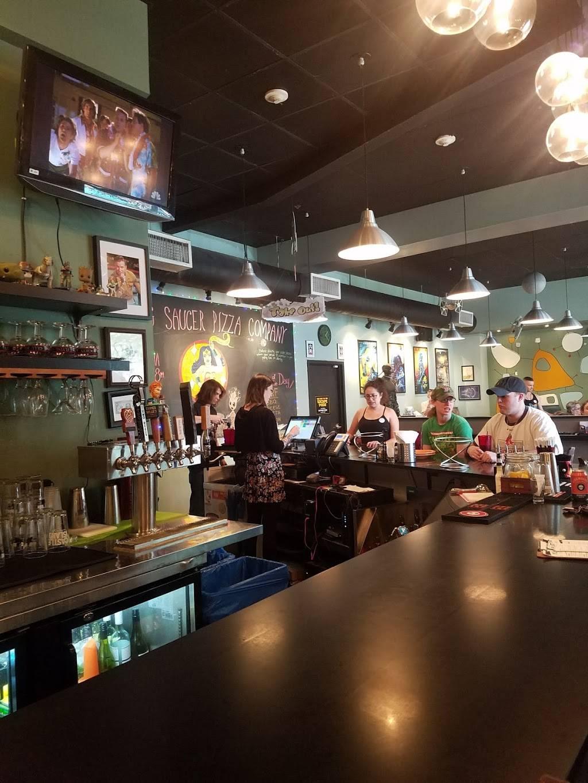 Flying Saucer Pizza Company | restaurant | 118 Washington St, Salem, MA 01970, USA | 9785948189 OR +1 978-594-8189