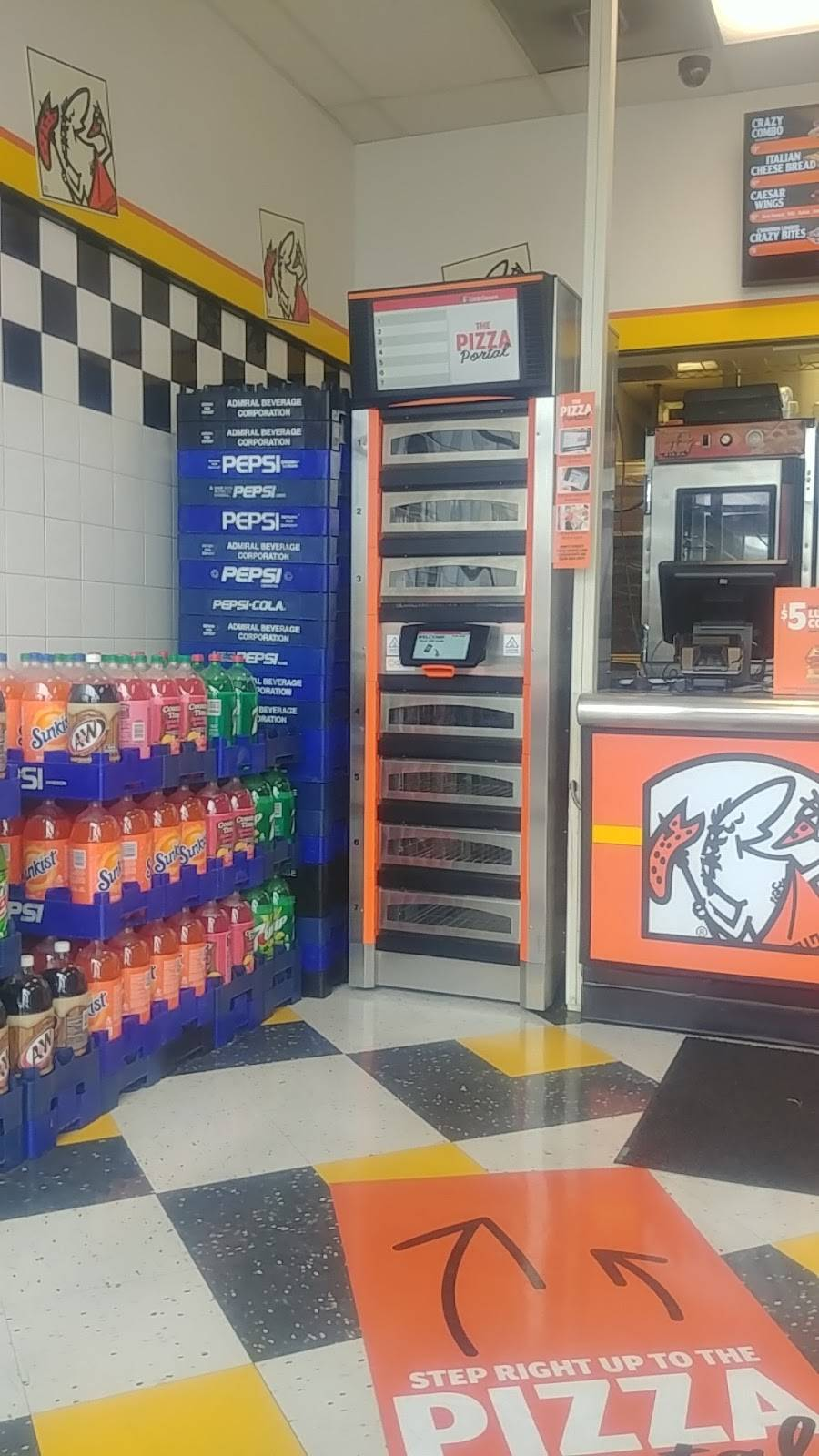 Little Caesars Pizza | meal delivery | 4862 S 1900 W, Roy, UT 84067, USA | 8017731300 OR +1 801-773-1300