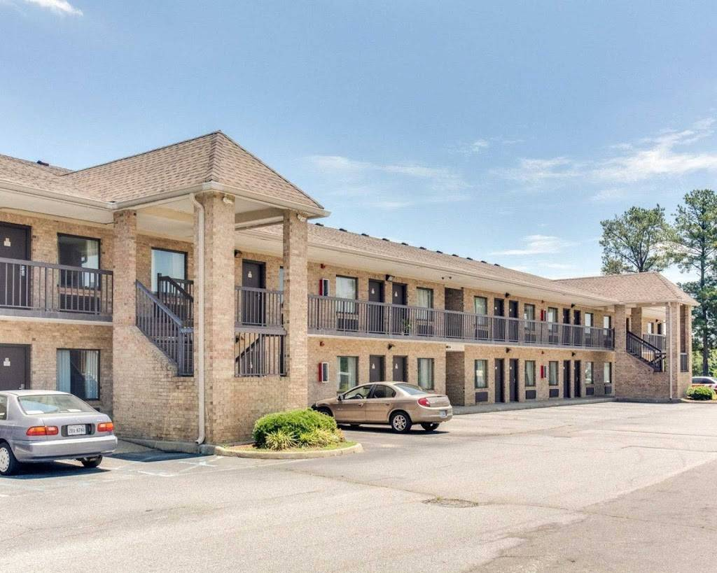 Econo Lodge | restaurant | 1503 Holland Road, Route 58 West, Suffolk, VA 23434, USA | 7575145600 OR +1 757-514-5600