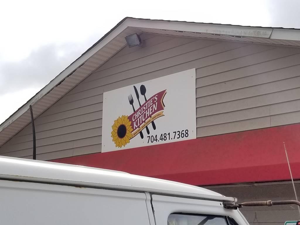 Christies Kitchen | restaurant | 110 Lee St, Polkville, NC 28136, USA | 7044817368 OR +1 704-481-7368
