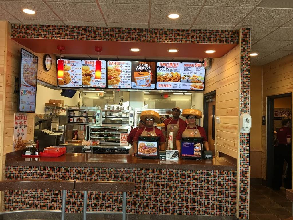 Popeyes Louisiana Kitchen | restaurant | 8520 Washington Blvd, Jessup, MD 20794, USA | 4439241917 OR +1 443-924-1917