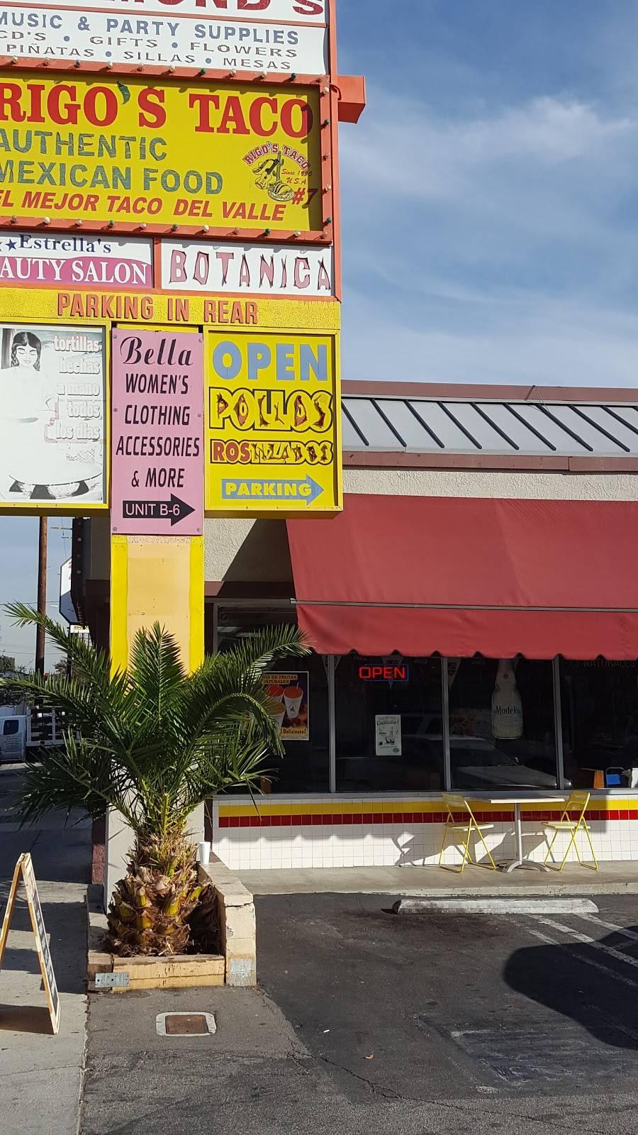 Rigos Taco   restaurant   20154 Saticoy St a1, Canoga Park, CA 91306, USA   8187189252 OR +1 818-718-9252