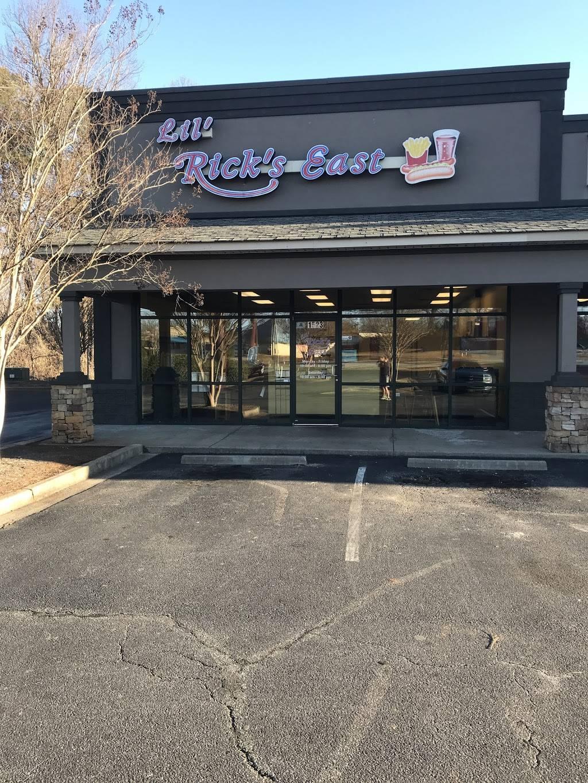 Lil Ricks East | meal takeaway | 1523 Asheville Hwy, Spartanburg, SC 29303, USA | 8645850002 OR +1 864-585-0002