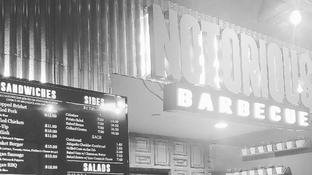 Notorious Barbecue | restaurant | 890 Palomar Airport Rd, Carlsbad, CA 92011, USA | 7602384864 OR +1 760-238-4864