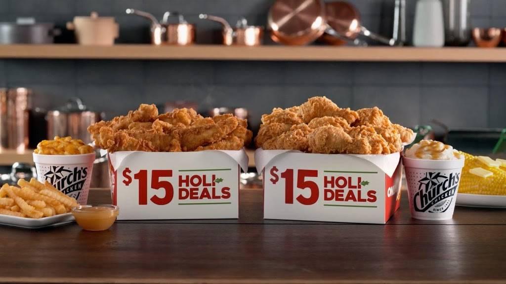 Churchs Chicken   restaurant   601 W St Peter St, New Iberia, LA 70560, USA   3373645114 OR +1 337-364-5114