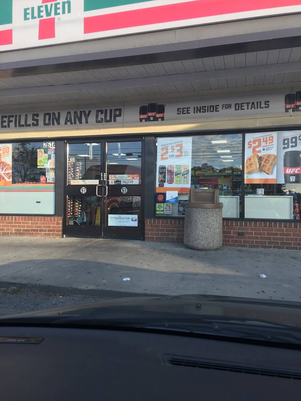 7-Eleven | bakery | 2616 Annapolis Rd, Severn, MD 21144, USA | 4105516647 OR +1 410-551-6647
