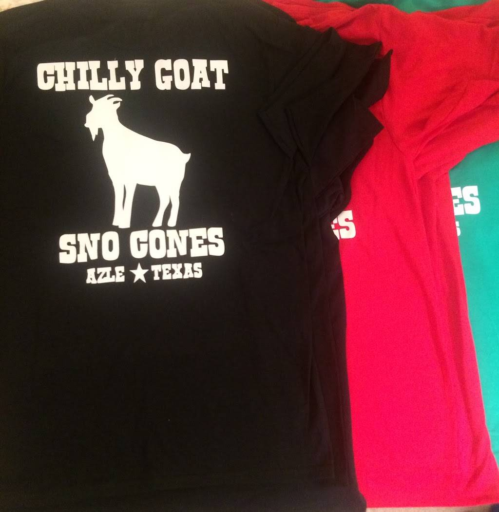 Chilly Goat Snow Cones | restaurant | 1312 NW Pkwy St, Azle, TX 76020, USA