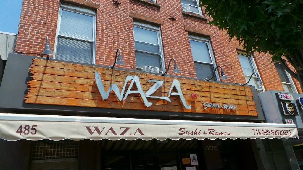 Waza sushi and ramen | restaurant | 485 Myrtle Ave, Brooklyn, NY 11205, USA | 7183999292 OR +1 718-399-9292