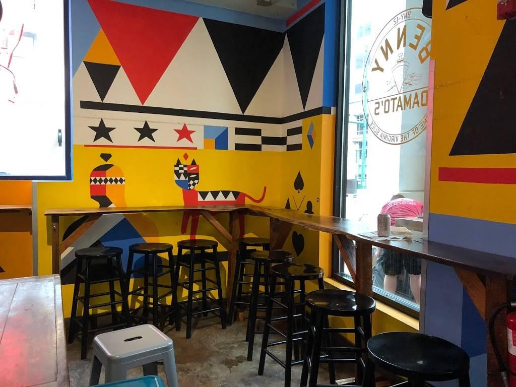 Benny Damatos | restaurant | 131 Granby St b, Norfolk, VA 23510, USA | 7573954696 OR +1 757-395-4696