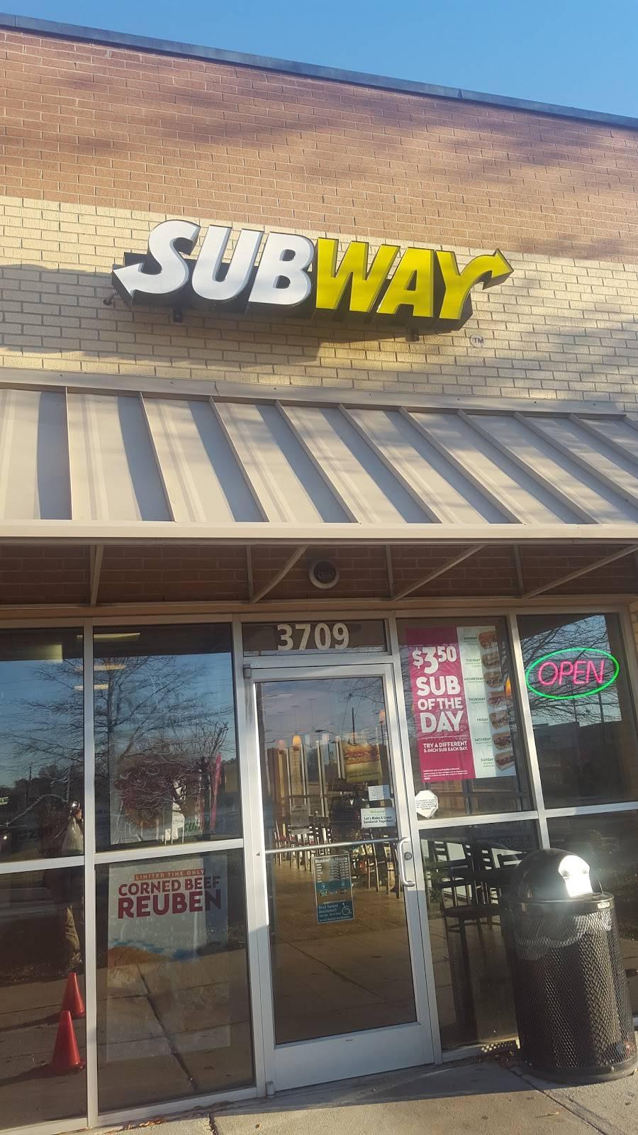 Subway Restaurants 3805 Concord Pkwy S Suite 152 Concord