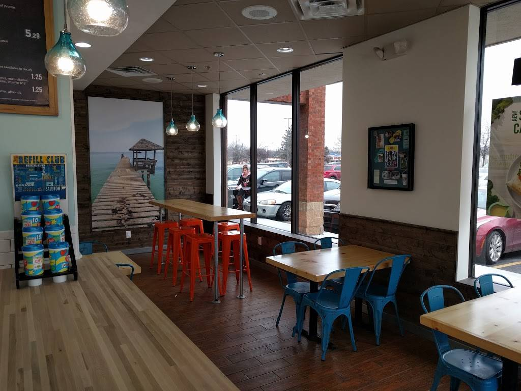 Tropical Smoothie Cafe - Livonia | cafe | 30971 Five Mile Road, Livonia, MI 48154, USA | 7344275500 OR +1 734-427-5500