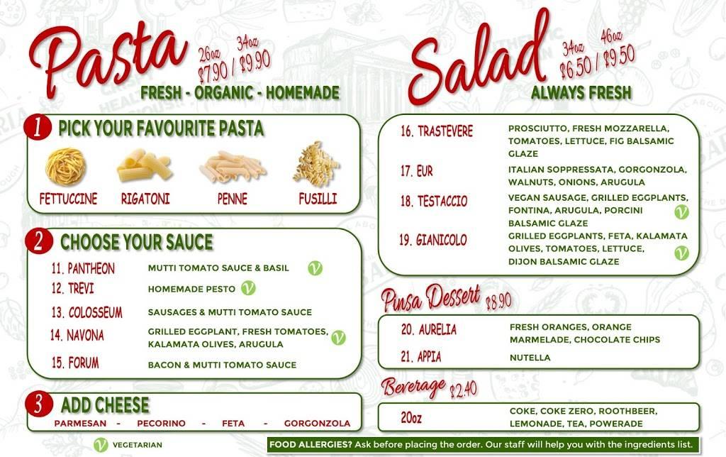 The Original Pinsaria | restaurant | 211 N Veterans Pkwy, Bloomington, IL 61704, USA | 3098261822 OR +1 309-826-1822