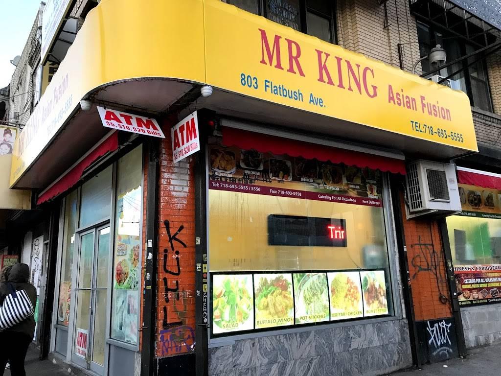 MR KING Asian Fusion   restaurant   803 Flatbush Ave, Brooklyn, NY 11226, USA   7186935555 OR +1 718-693-5555