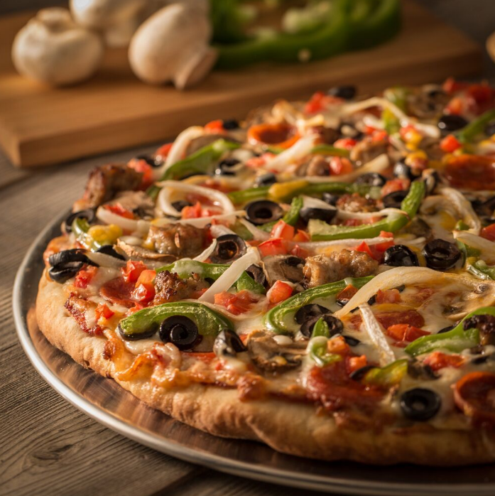 Mountain Mikes Pizza   meal delivery   2171 Meeker Ave, Richmond, CA 94804, USA   5105370650 OR +1 510-537-0650