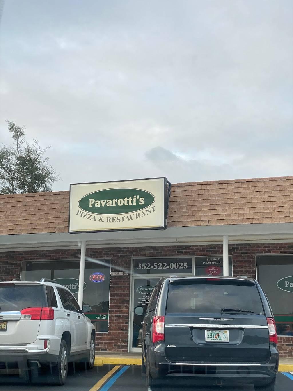 Pavarotti's Pizza & Restaurant | restaurant | 19487 SW Rainbow Lakes Blvd, Dunnellon, FL 34431, USA | 3525220025 OR +1 352-522-0025