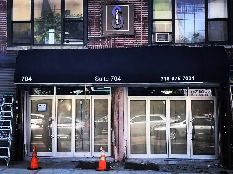 Suite 704 | restaurant | 704 Nostrand Ave, Brooklyn, NY 11216, USA | 7189757001 OR +1 718-975-7001