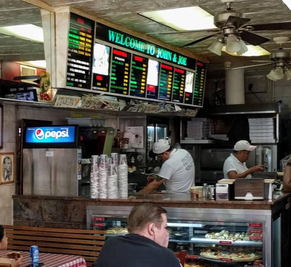 John & Joes Pizzeria and Restaurant | restaurant | 749 Lydig Ave, Bronx, NY 10462, USA | 7184099776 OR +1 718-409-9776