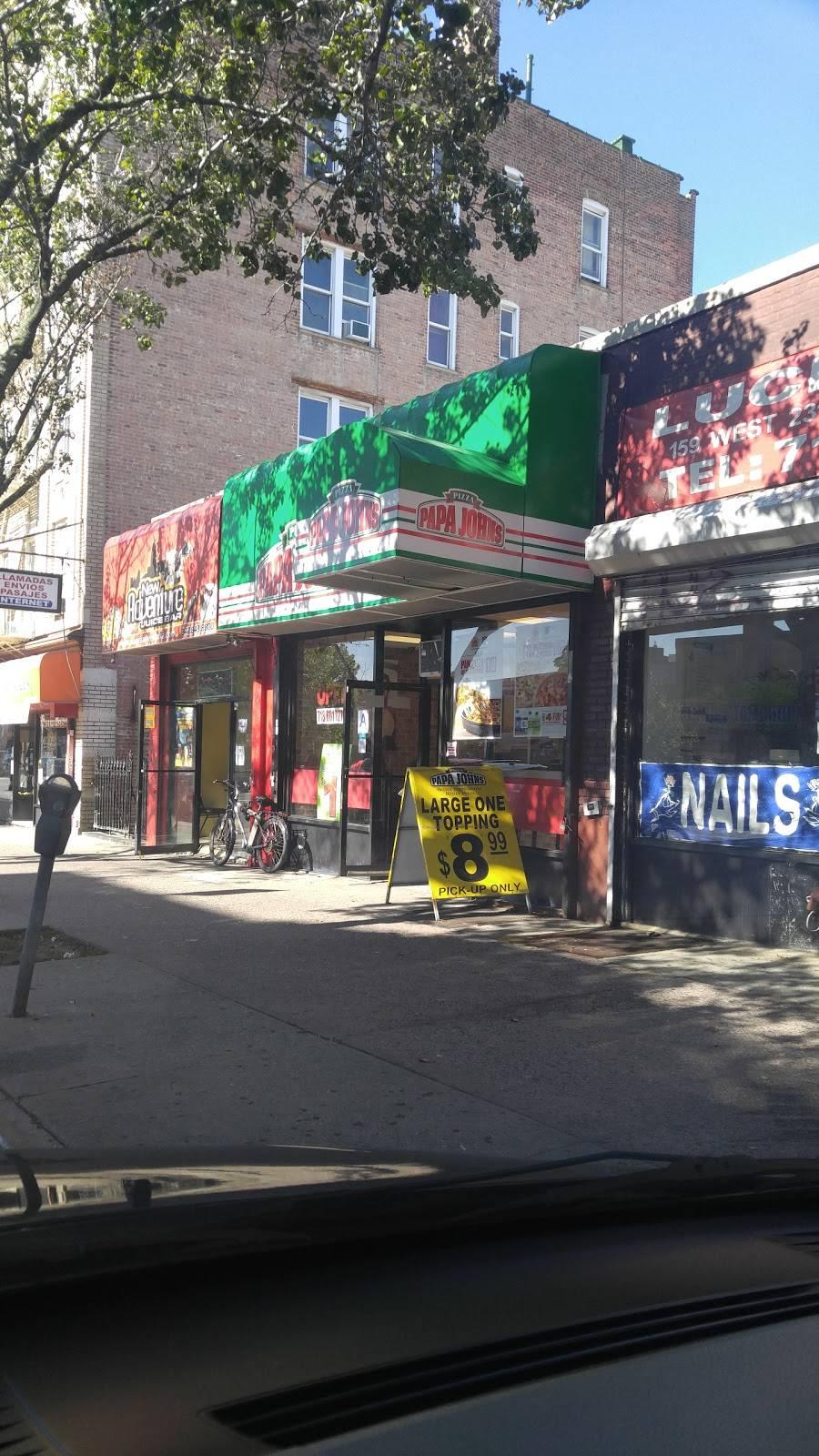 Papa Johns Pizza | restaurant | 161 W 231st St, Bronx, NY 10463, USA | 7186017272 OR +1 718-601-7272