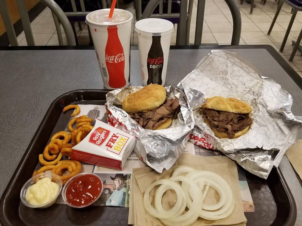 Roy Rogers   restaurant   Mile Post 111.6 South, Secaucus, NJ 07096, USA   2018633345 OR +1 201-863-3345