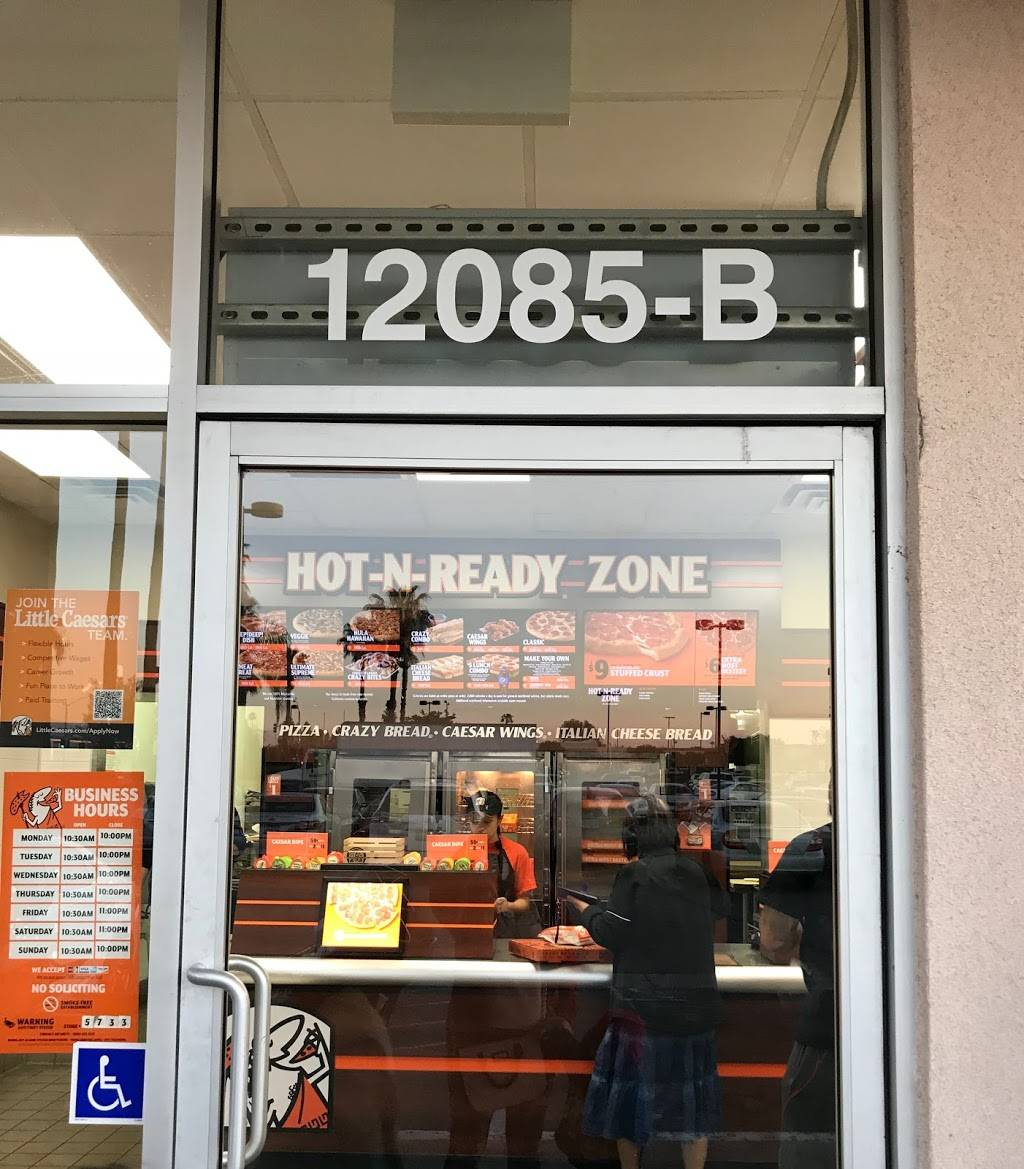 Little Caesars Pizza   meal takeaway   12085 Brookhurst St Suite B, Garden Grove, CA 92840, USA   7145345500 OR +1 714-534-5500