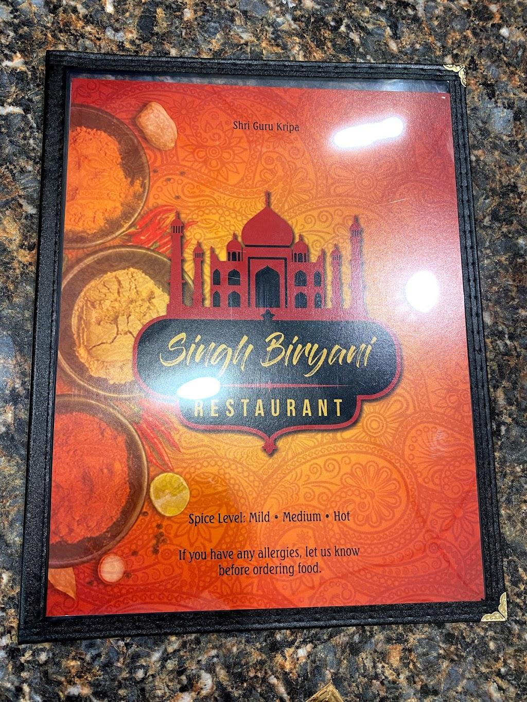 Singh Biryani | restaurant | 1879 E Main St, Kent, OH 44240, USA | 3304747180 OR +1 330-474-7180