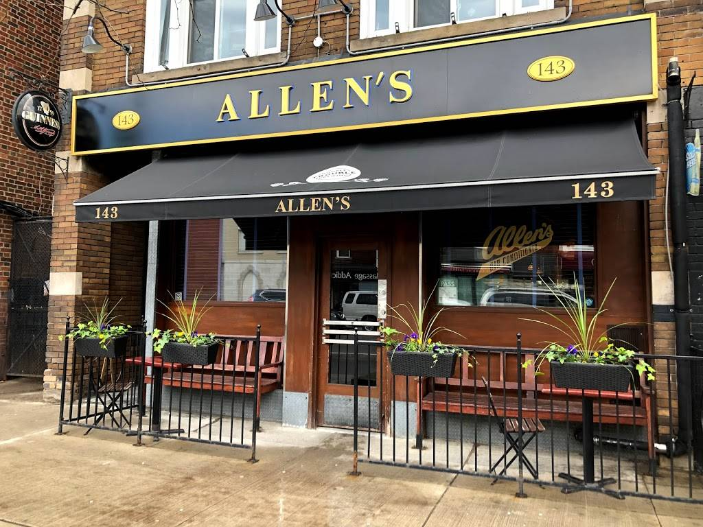 Allens | restaurant | 143 Danforth Ave, Toronto, ON M4K 1N2, Canada | 4164633086 OR +1 416-463-3086