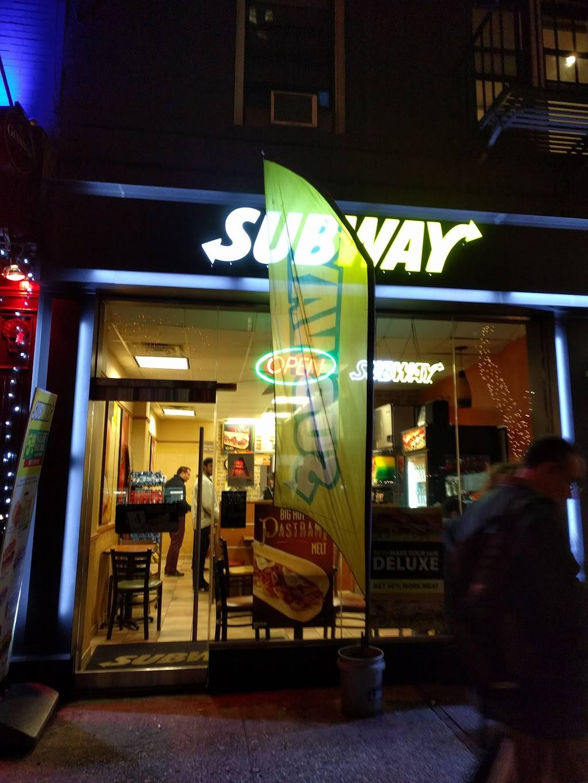 Subway Restaurants | restaurant | 489-91 3rd Ave, New York, NY 10016, USA | 2122132228 OR +1 212-213-2228