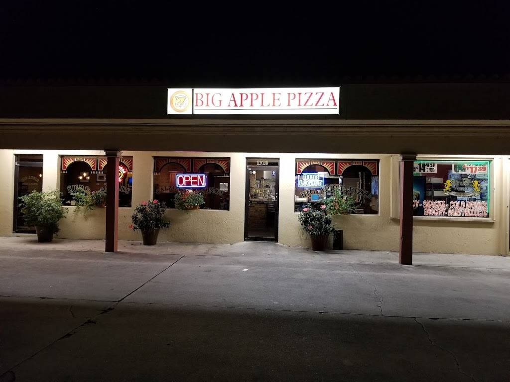 Big Apple Pizza | restaurant | 1310 SW Bayshore Blvd, Port St. Lucie, FL 34983, USA | 7728716627 OR +1 772-871-6627