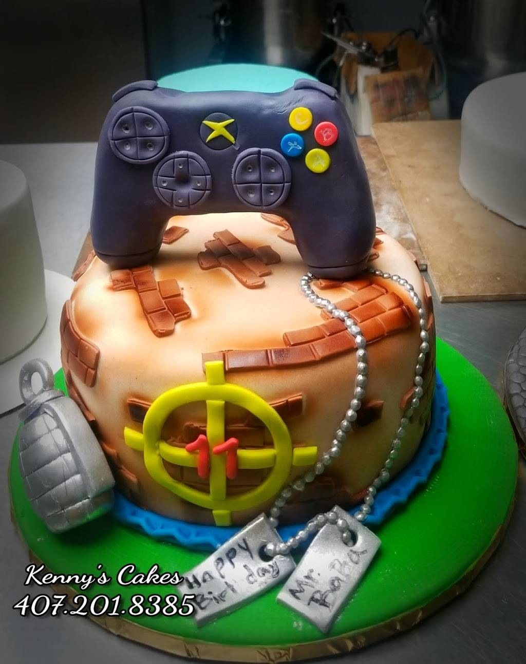 Kenny's Cakes | bakery | 10 W Dakin Ave, Kissimmee, FL 34741, USA | 4072018385 OR +1 407-201-8385