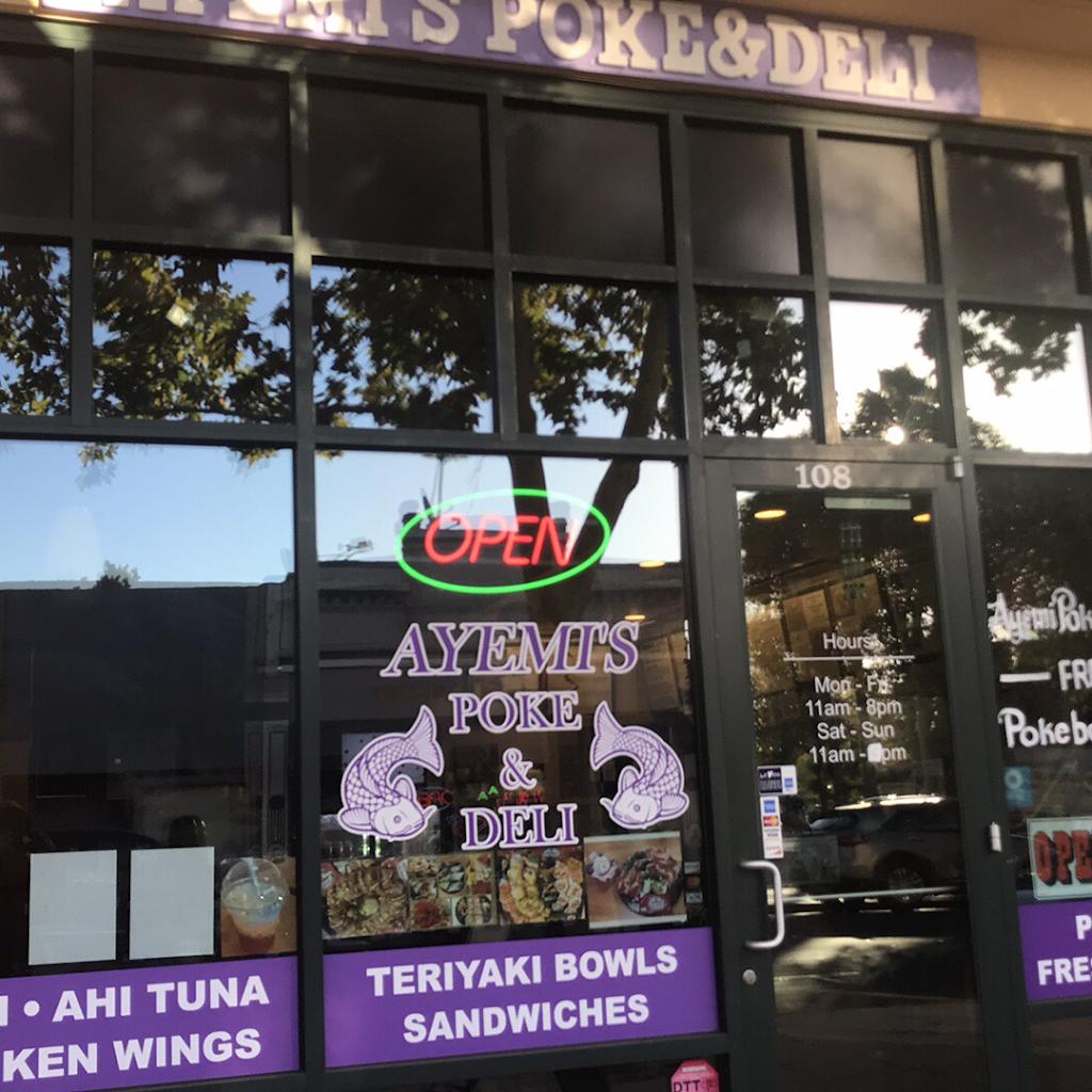 Ayemis Poke & Deli | restaurant | 700 Main St, Suisun City, CA 94585, USA | 7077595105 OR +1 707-759-5105