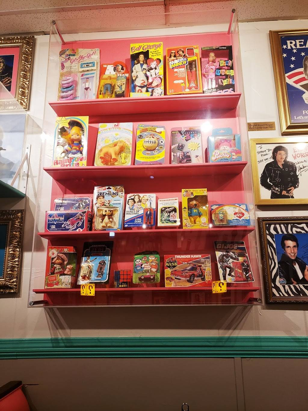 Totally 80s Pizza & Museum | restaurant | 1717 S College Ave, Fort Collins, CO 80525, USA | 9708675309 OR +1 970-867-5309