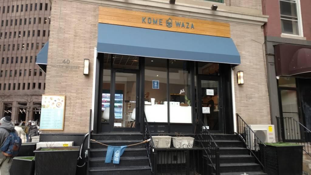 Kome Waza | restaurant | 40 Water St, New York, NY 10004, USA | 6463681727 OR +1 646-368-1727