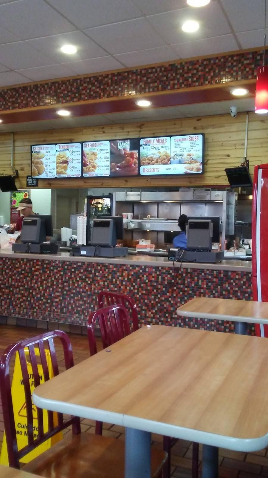 Popeyes Louisiana Kitchen Restaurant 1653 E 103rd St Los Angeles Ca 90002 Usa