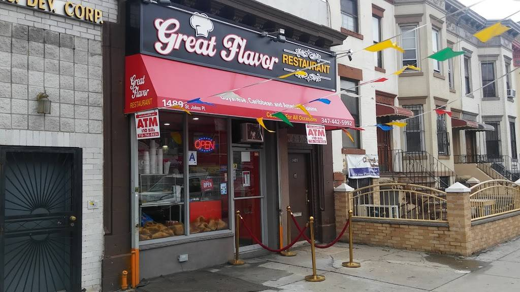 Great Flavor | restaurant | 1489 St Johns Pl, Brooklyn, NY 11213, USA | 3474425992 OR +1 347-442-5992