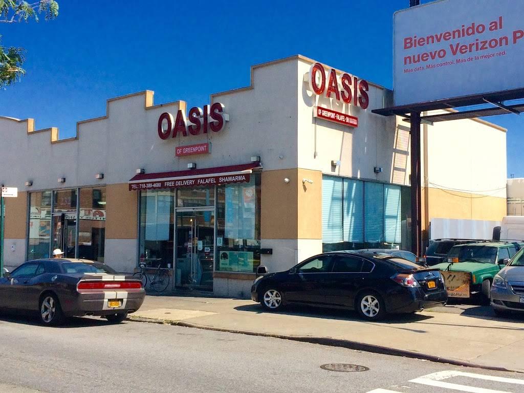 Oasis | restaurant | 230 Calyer St, Brooklyn, NY 11222, USA | 7183894680 OR +1 718-389-4680