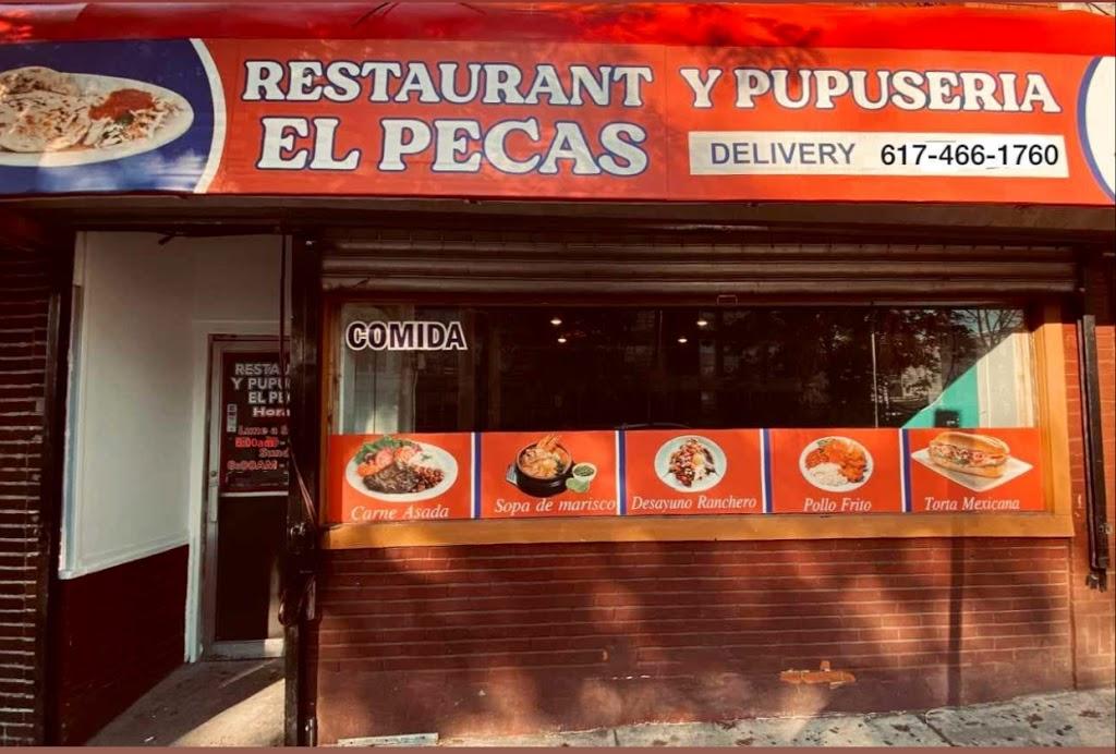 restaurante el pecas | restaurant | 10A Central Ave, Chelsea, MA 02150, USA | 6174661760 OR +1 617-466-1760