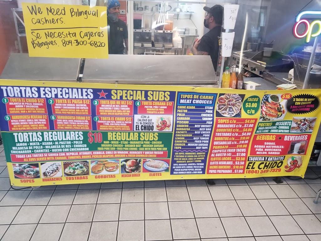 El Chido | restaurant | 9230 Quioccasin Rd, Richmond, VA 23229, USA