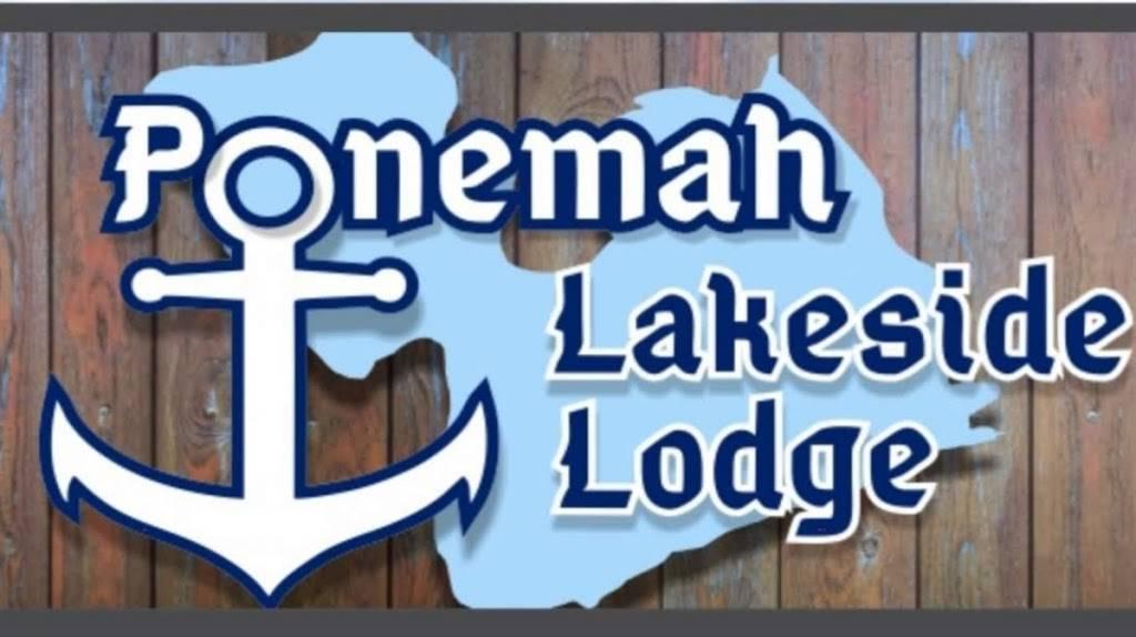 Ponemah Lakeside Lodge | restaurant | 3482 W Silver Lake Rd, Fenton, MI 48430, USA | 8103548200 OR +1 810-354-8200