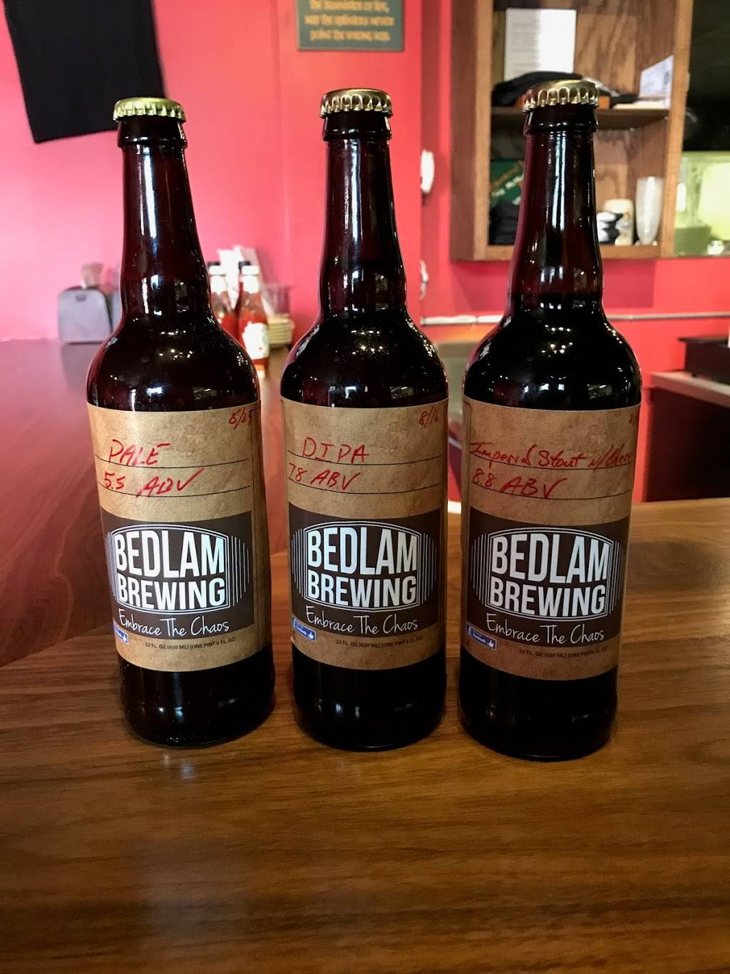 Bedlam Brewing | restaurant | 2303 N Augusta St, Staunton, VA 24401, USA | 5404164634 OR +1 540-416-4634