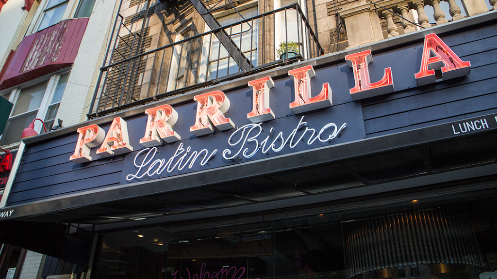 Parrilla Latin Bistro | night club | 3920 Broadway, New York, NY 10032, USA | 2125439500 OR +1 212-543-9500