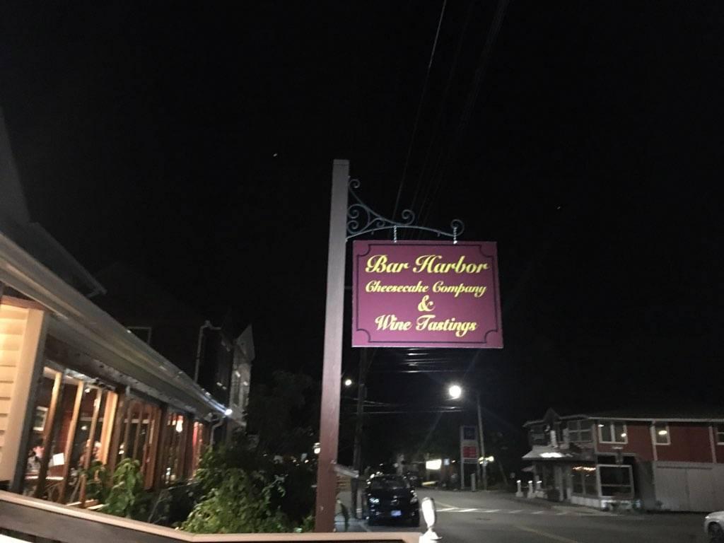 Bar Harbor Cheesecake Company | bakery | 300 Main St, Bar Harbor, ME 04609, USA | 2078019184 OR +1 207-801-9184
