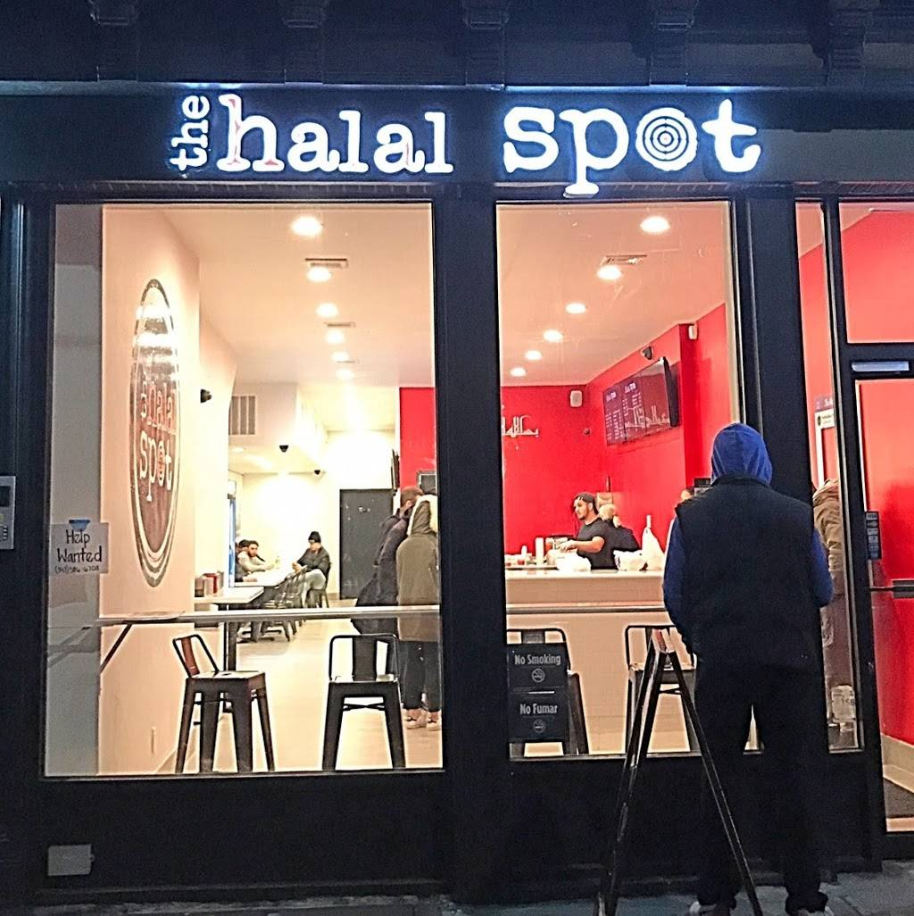 The Halal Spot | restaurant | 474 Myrtle Ave, Brooklyn, NY 11205, USA | 7182304900 OR +1 718-230-4900