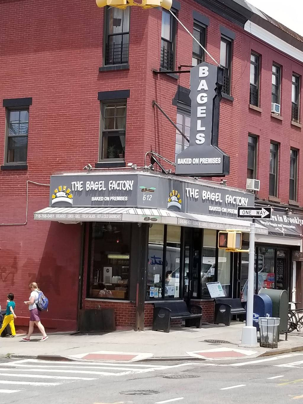 The Bagel Factory | cafe | 612 5th Ave, Brooklyn, NY 11215, USA | 7187680461 OR +1 718-768-0461