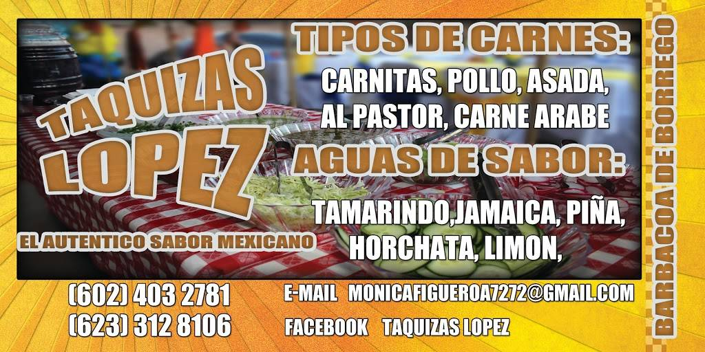 taquizas lopez | meal delivery | 6713 N 26th Ave, Phoenix, AZ 85017, USA