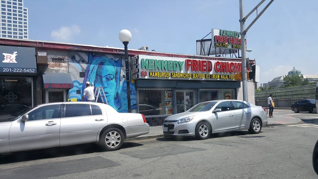 Kennedy Fried Chicken   restaurant   50 Sip Ave, Jersey City, NJ 07306, USA   2016591055 OR +1 201-659-1055