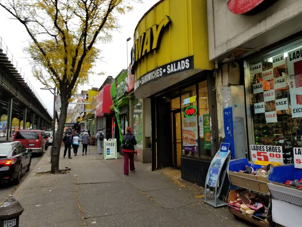 Subway Restaurants | restaurant | 3422 Jerome Ave, Bronx, NY 10467, USA | 7185766031 OR +1 718-576-6031