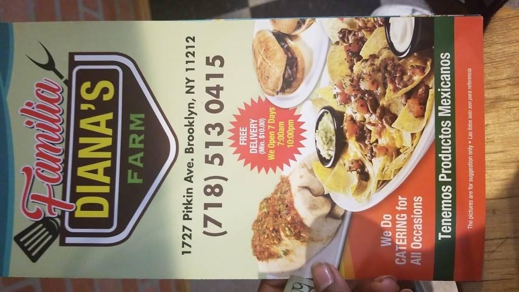 Familia Dianas Farm | restaurant | 1729 Pitkin Ave, Brooklyn, NY 11212, USA | 7185130415 OR +1 718-513-0415