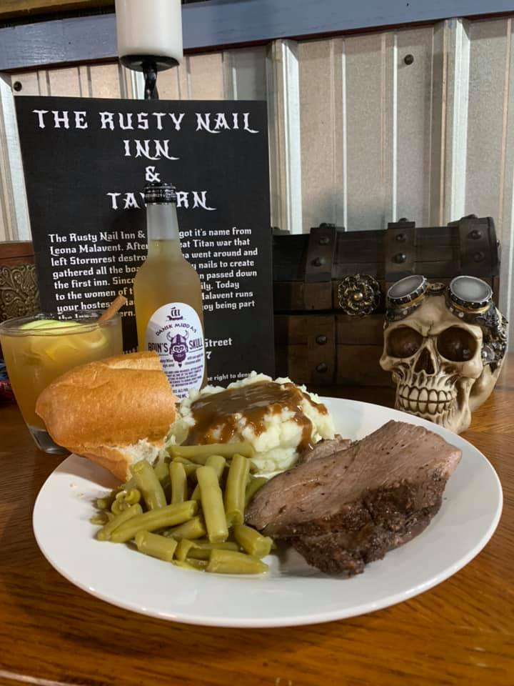 The Rusty Nail Inn and Tavern | restaurant | 19 S Commerce St, Liberty, SC 29657, USA | 8647294450 OR +1 864-729-4450